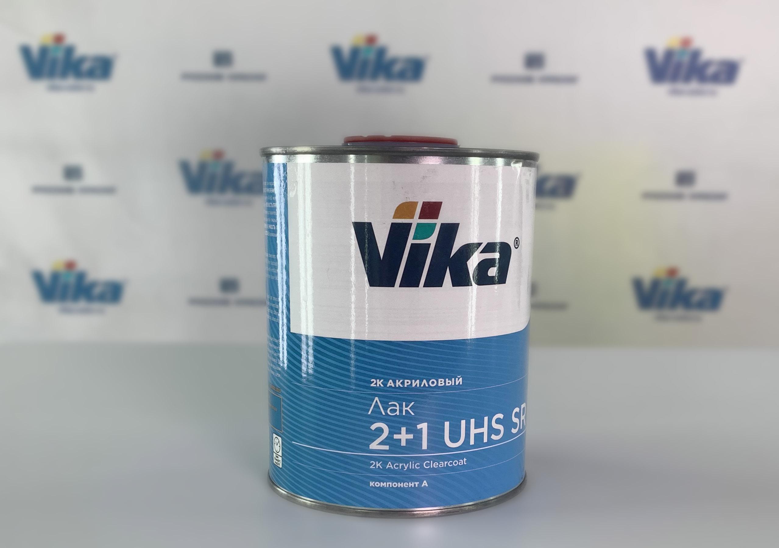 Новинка в продуктовом портфеле— лак Vika UHS