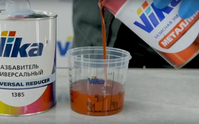 Видео: акрил-уретановый лак VIKA ЭКСПРЕСС