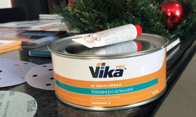 Обновленный дизайн шпатлевок Vika PRO